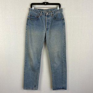 LEVI'S Vintage 501 Washed Straight Jeans